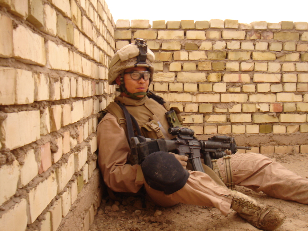 Terry Kim. Fallujah, Iraq. 2007. Photographer Unknown