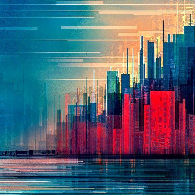 #cyberpunk city