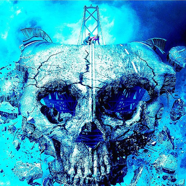 Skull mountain? What does this make you want to listen to? #stonerrock here. How about some @highonfireband