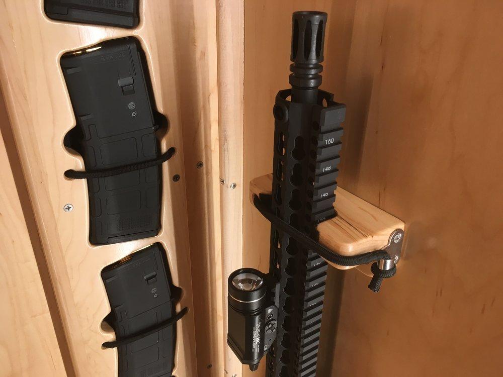 custom gun cradle woodencrab woodworking