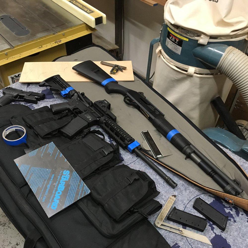 custom Firearm Cabinet