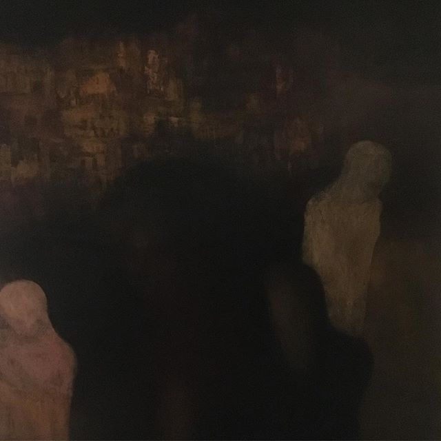Painting of figures #jerusalem #painting #absteactart #polish #art #2013 #ewagargulinska #painter #artist #female #holyland