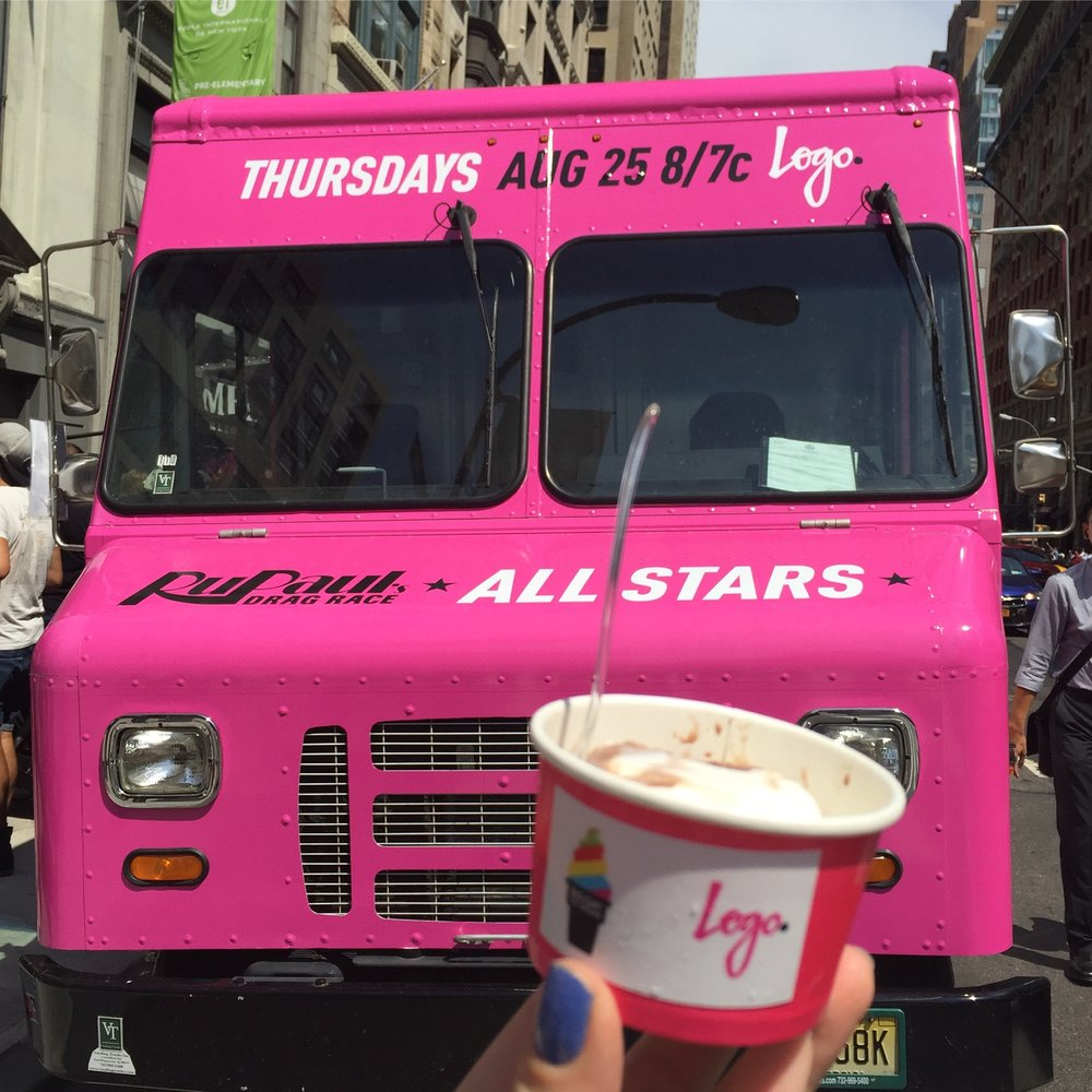 RuPaul's Drag Race All-Stars & Free Ice Cream!
