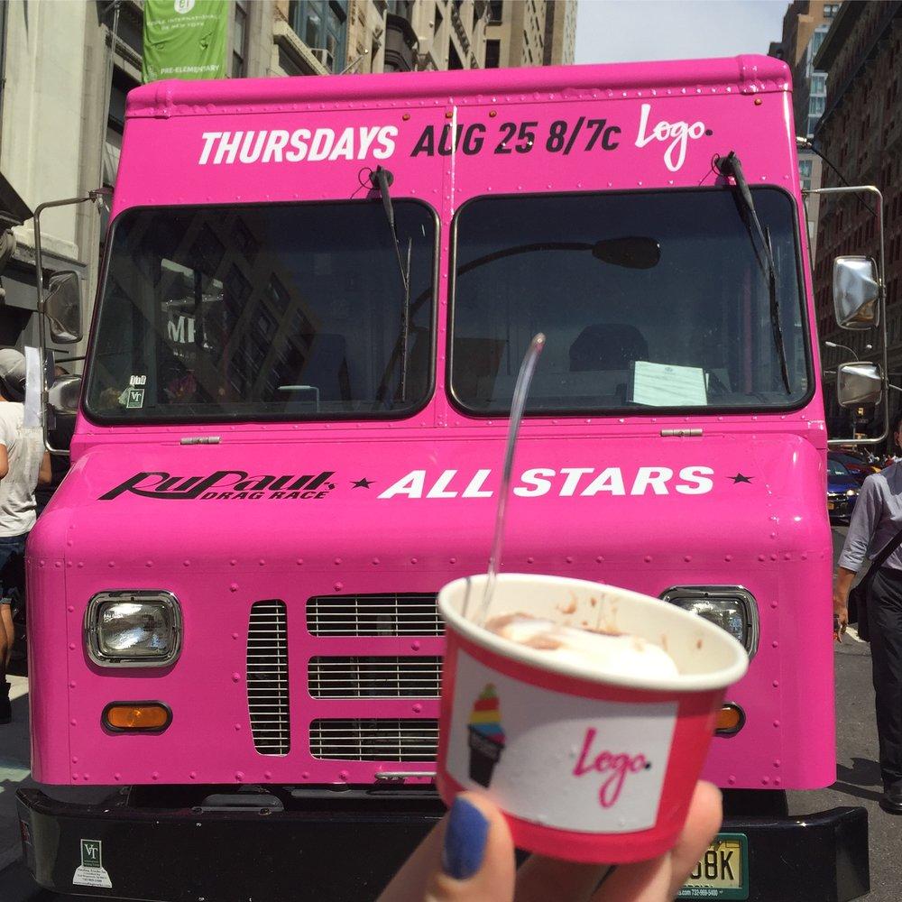 RuPaul's Drag Race All-Stars & Free Ice Cream!