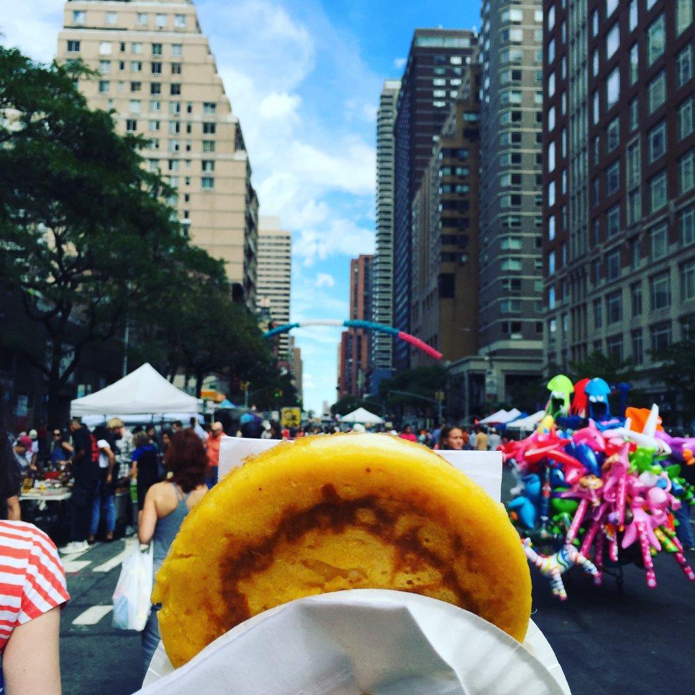 Street Fair & an Mozzarepa