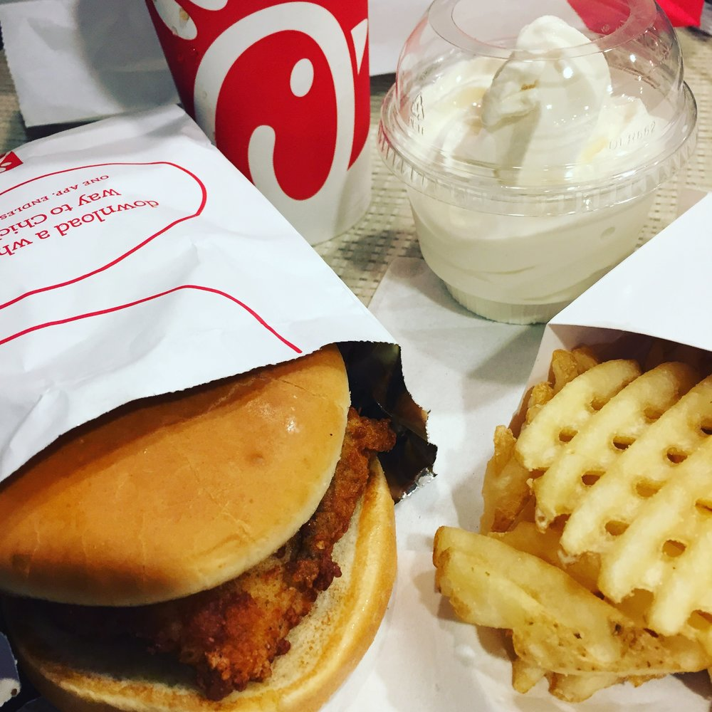 A date with Chick-fil-a