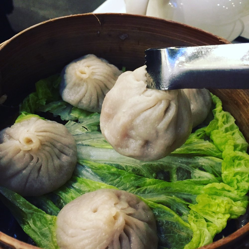 Holiday Windows & Soup Dumplings!
