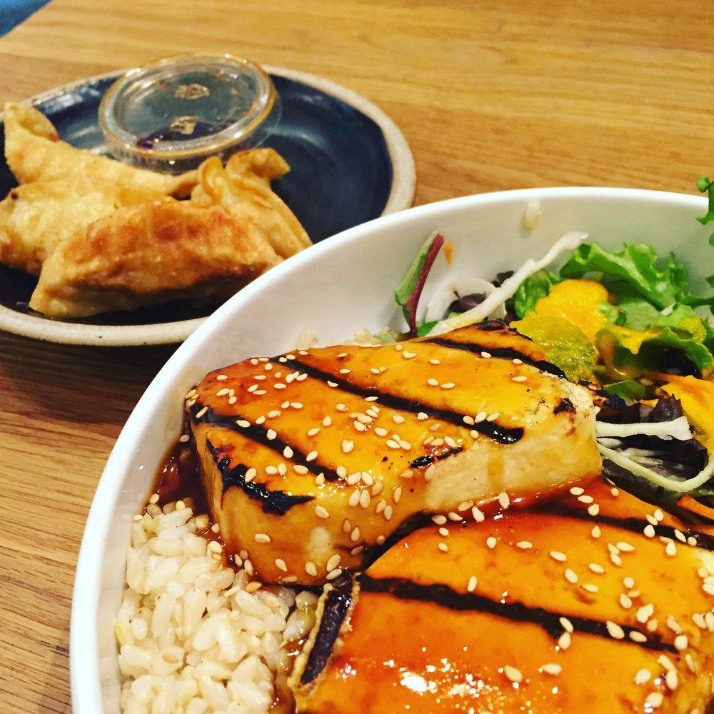 Tofu Teriyaki Time!