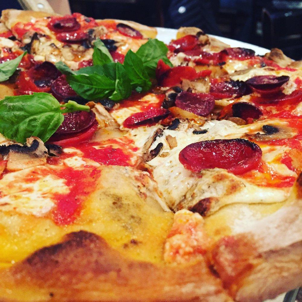 Pizza & Broadway