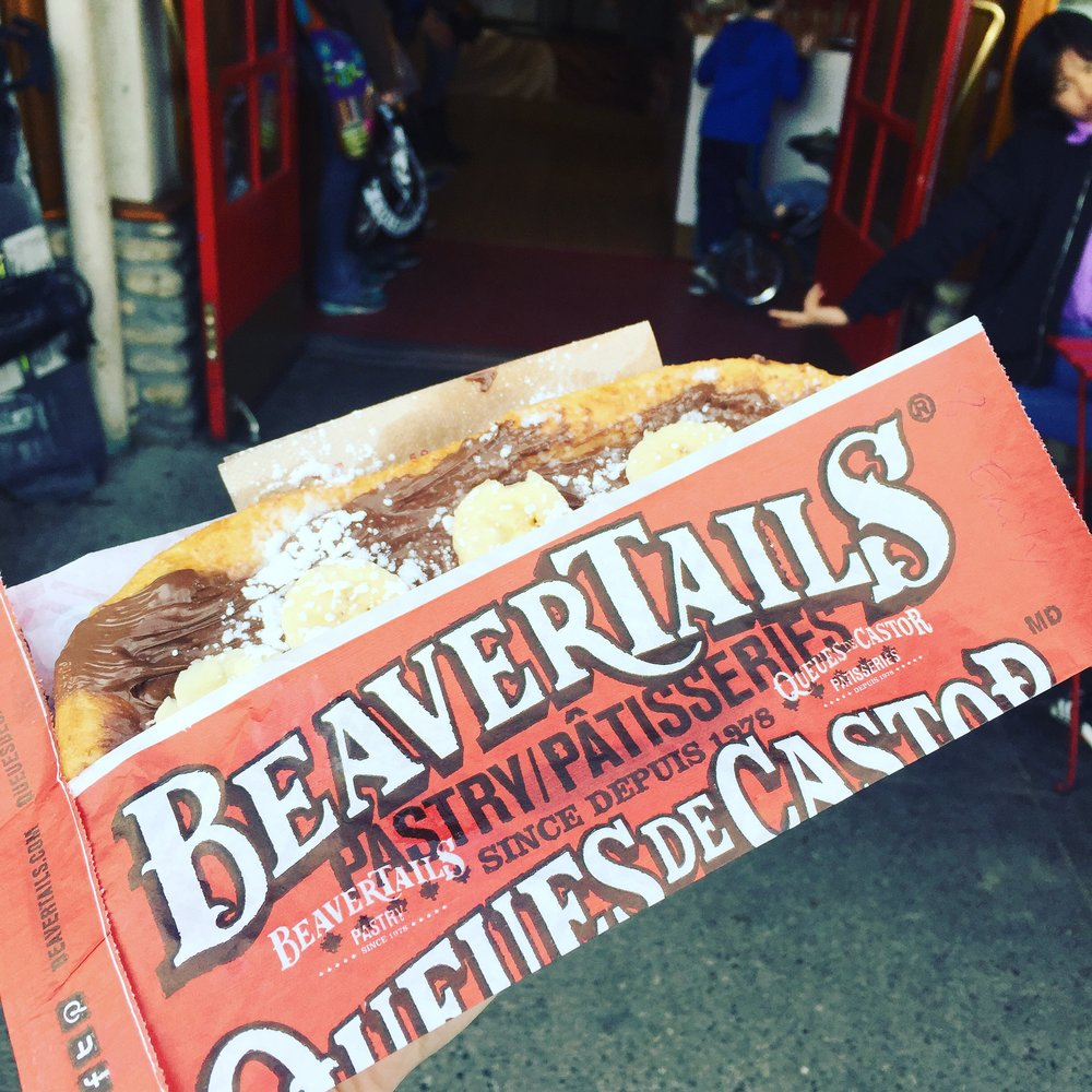 BeaverTails at Banff.