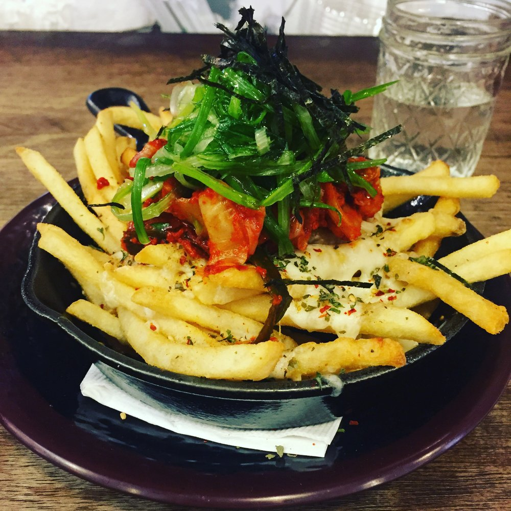 Asian-Inspired Disco Fries!