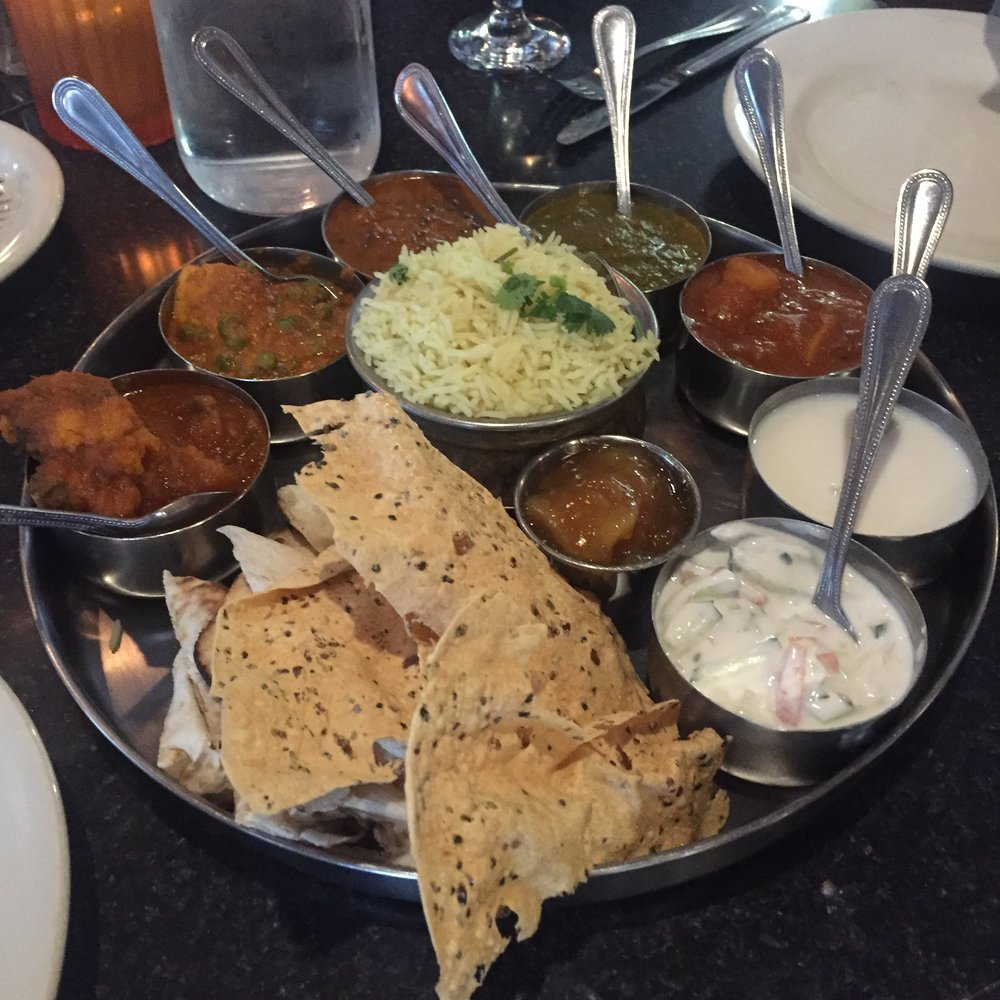 Thali at The Oven