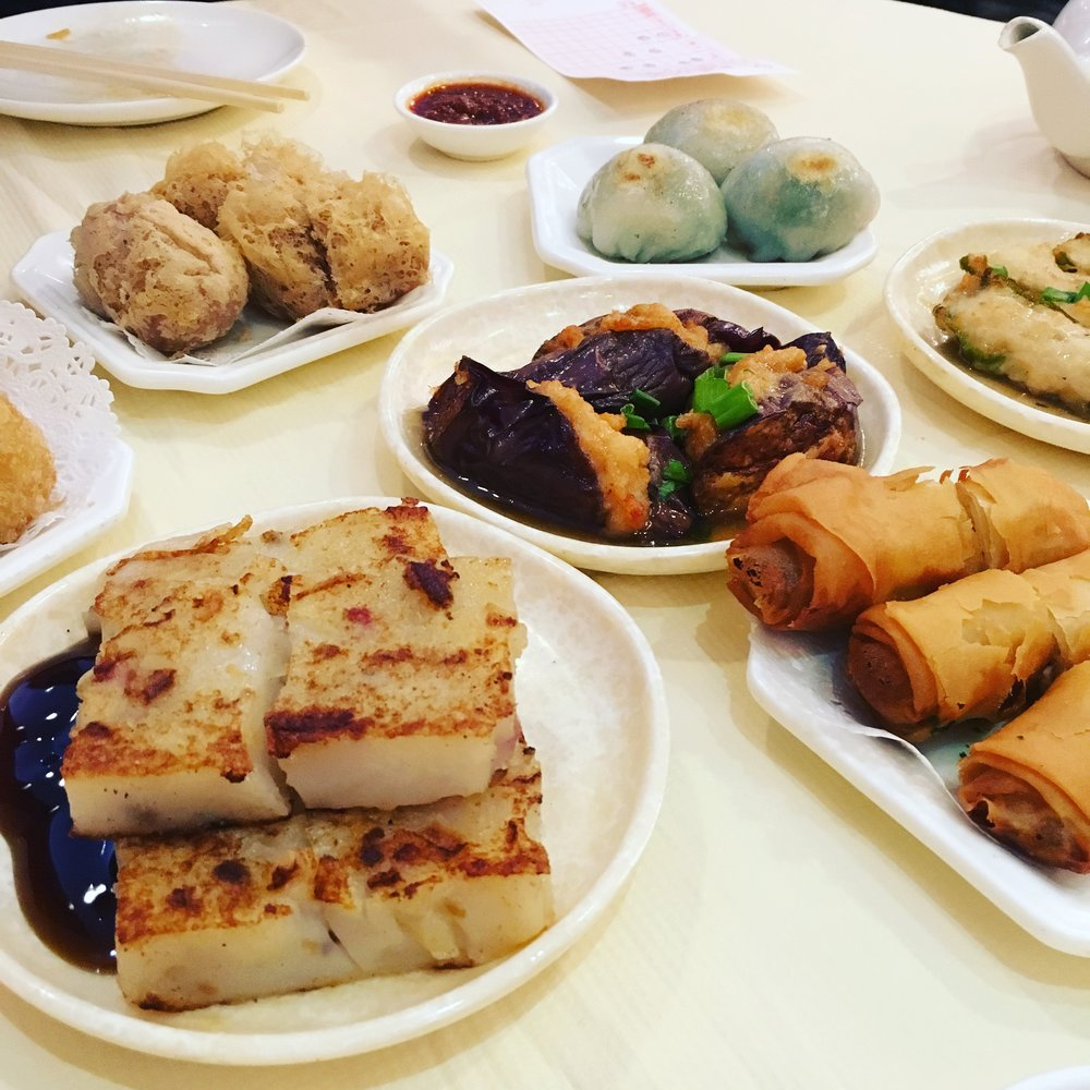 Dim Sum in Flushing.