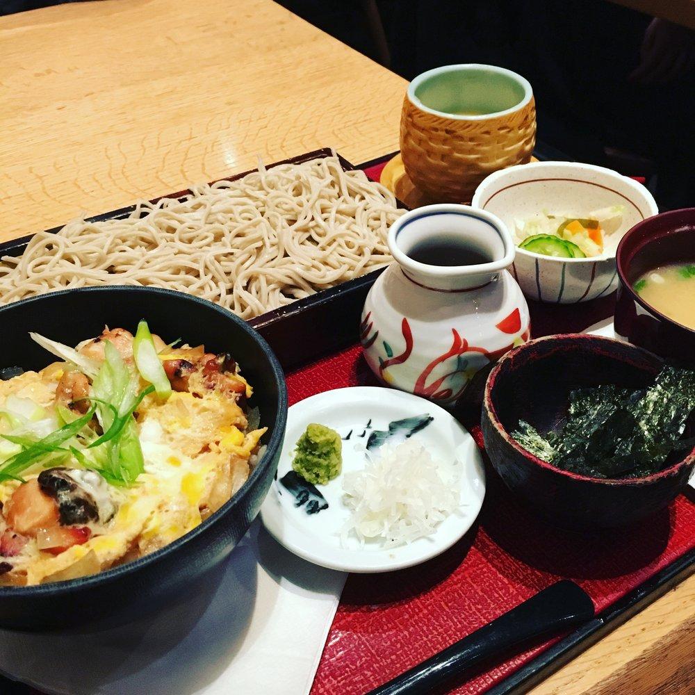 Oyako Don & Serio Soba Set
