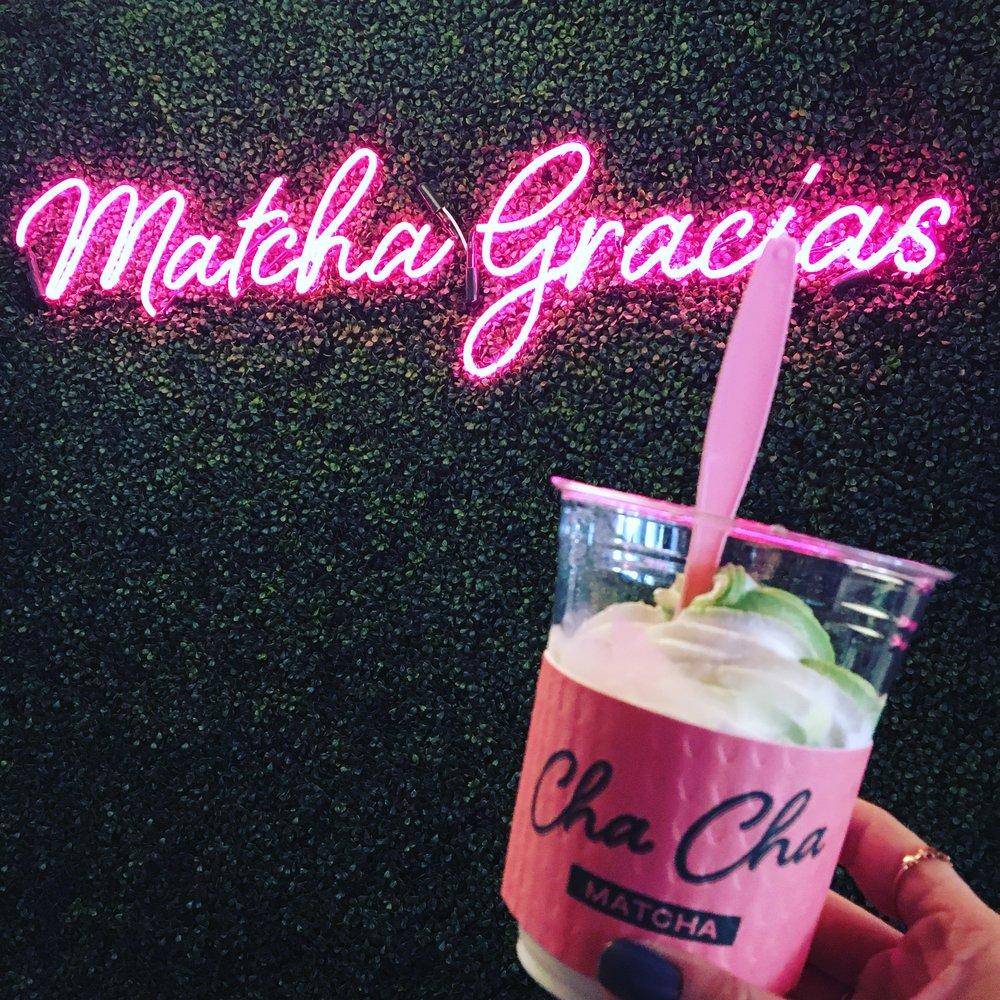 Matcha Soft Serve!