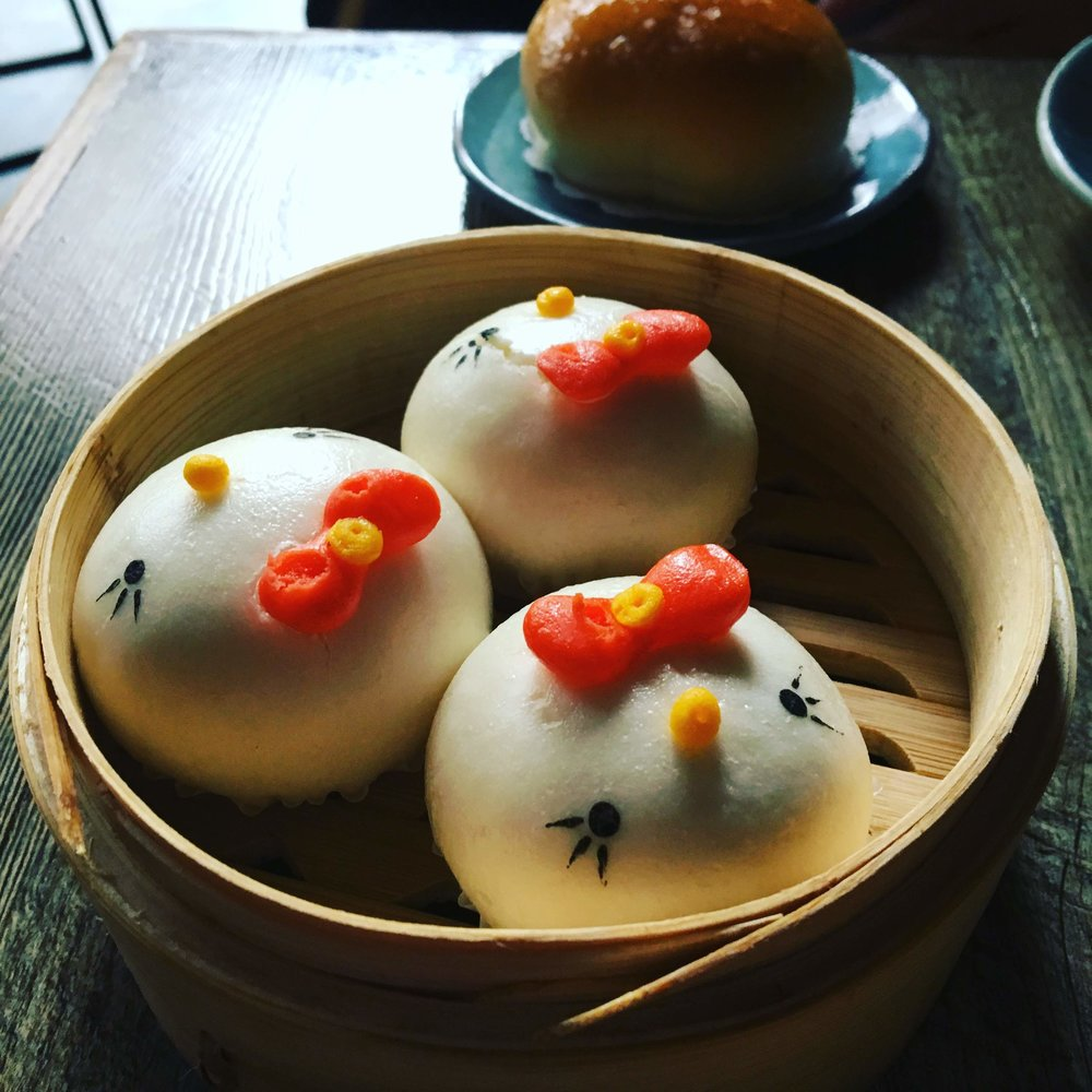 Hello Kitty dim sum!