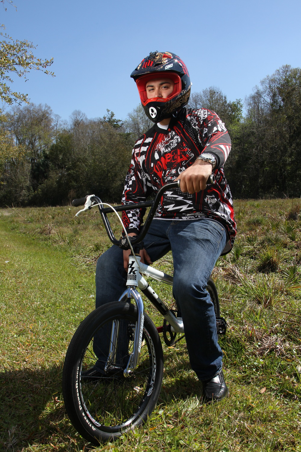 BMX Senior Portrait