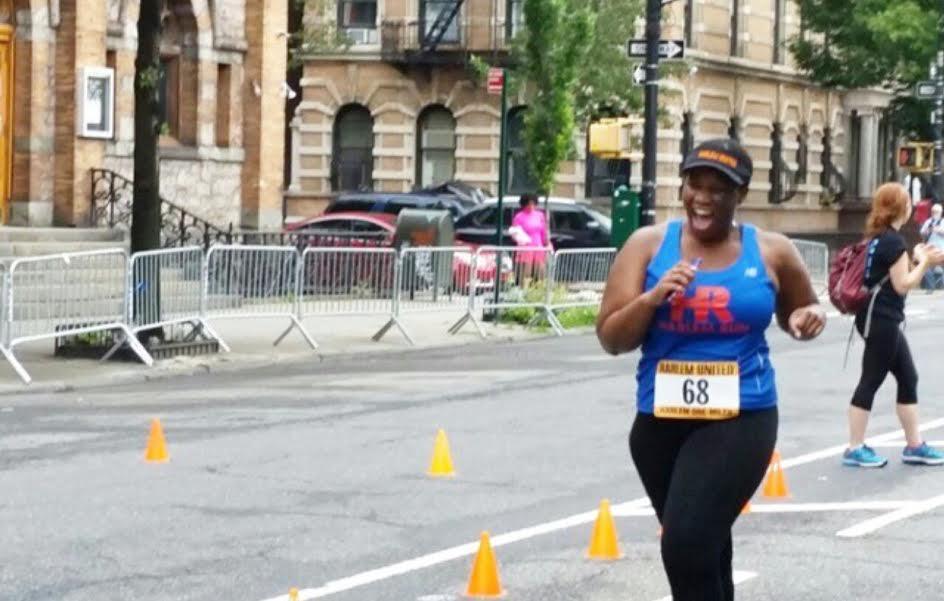 ~Sasha Thompson, Harlem One-Miler Participant