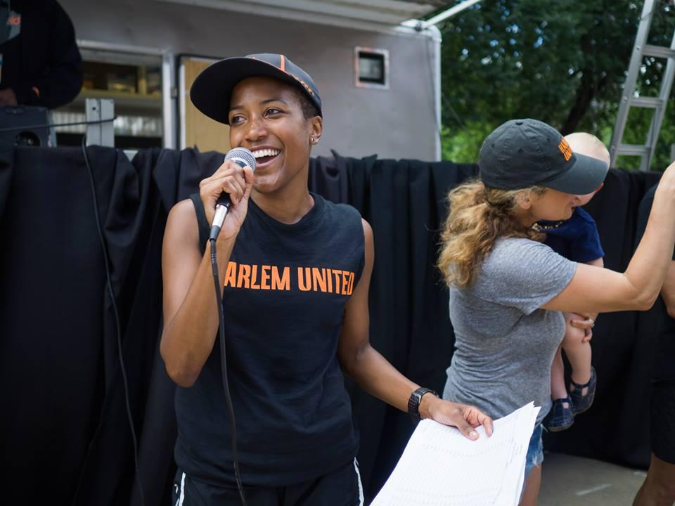 ~ Alison   Désir, Founder - Harlem Run