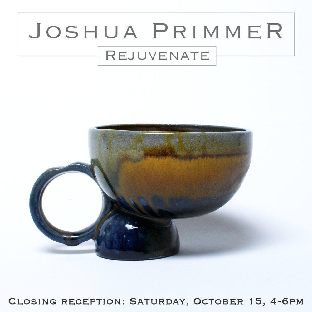 JOSHUA PRIMMER. REJUVENTATE