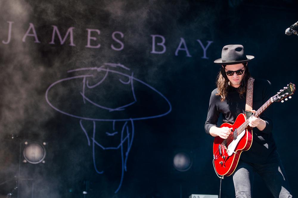 James Bay auf der Hauptbühne