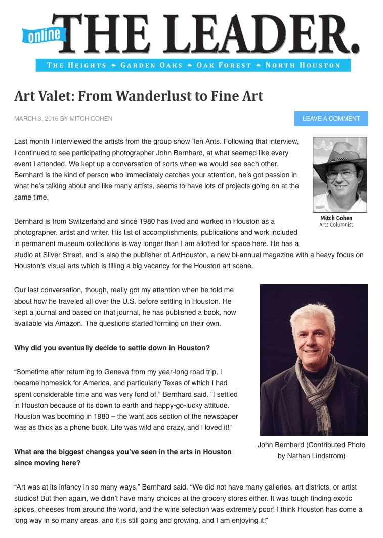 From Wanderlust to Fine Art