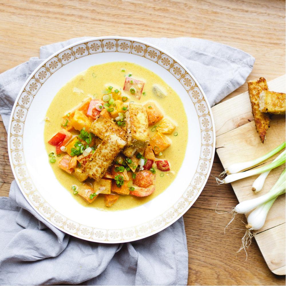 Pumpkin Curry - Lunchclub