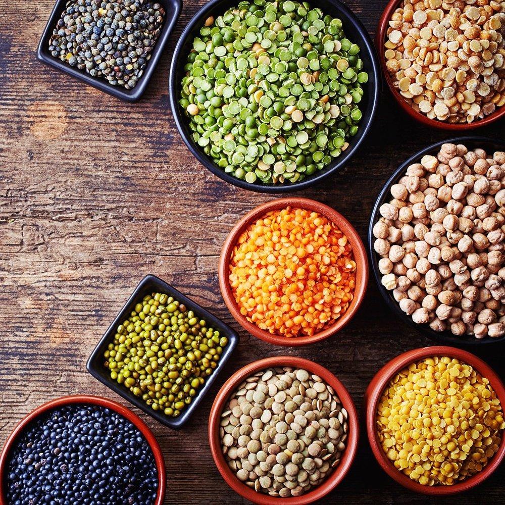 Hülsenfrüchte sind besonders für Veganer wichtige Proteinlieferanten.