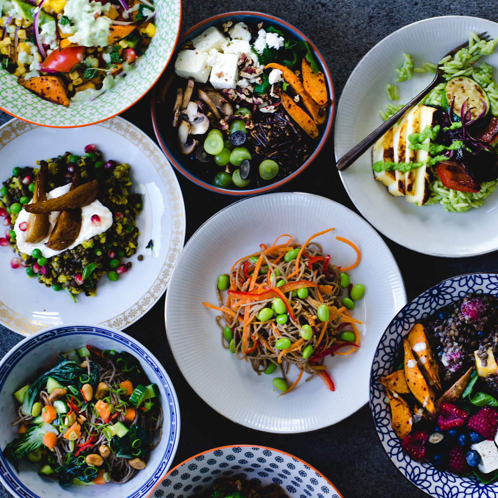 Ob als Salat, Curry oder Bowl: Bei unseren Lunches ist das Gemüse der Hauptdarsteller.