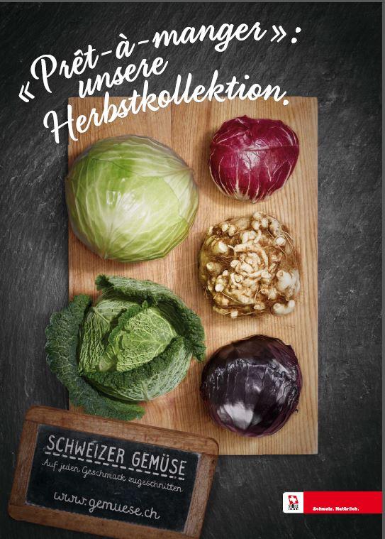 Für mehr Schweizer Gemüse auf dem Teller: Die Werbekampagne von gemuese.ch