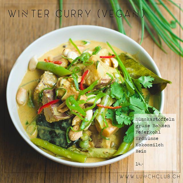 Der Winter zeigt sich gerade von seiner kältesten Seite. Zeit sich zu wärmen mit unserem **Winter Curry**