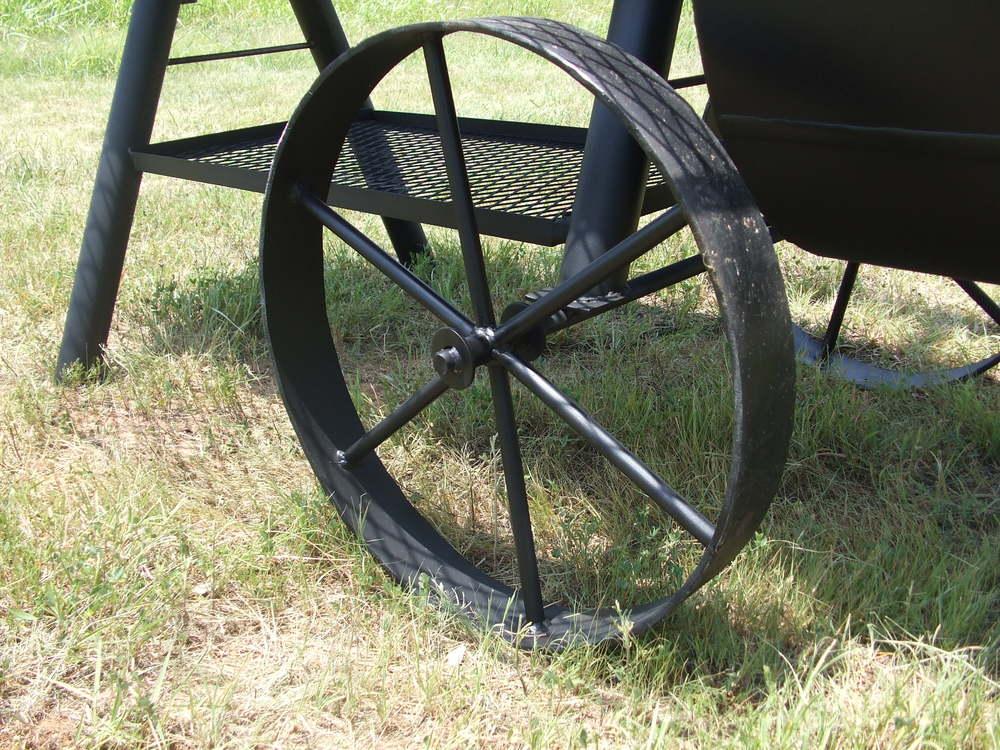 bbq smoker wheels