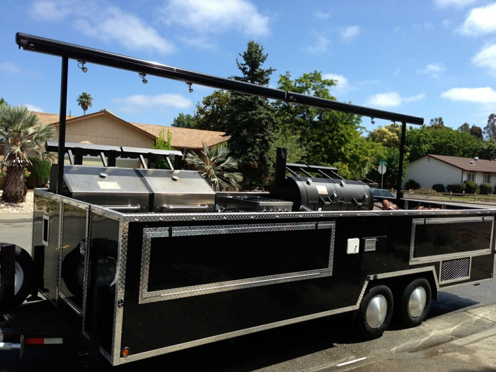 Guy Fieri's Grill & Smoker Trailer