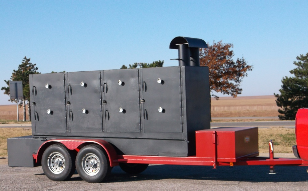 No. 4 Smokehouse Trailer