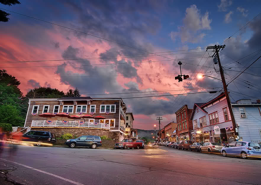 TOWNS TO VISIT: Narrowsburg, New York