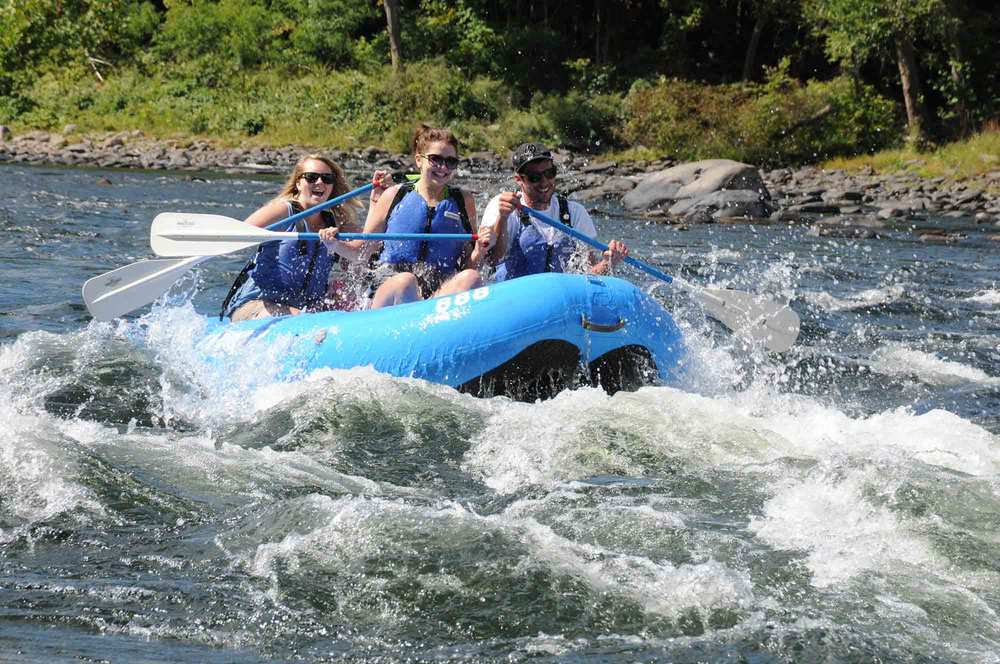 RAFTING: Kittatinny Canoes & Rafts in Barryville, NY