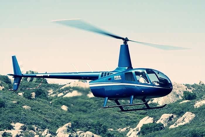 Robinson 66 | Аренда от $1200/ч Пилот + 4 пассажира