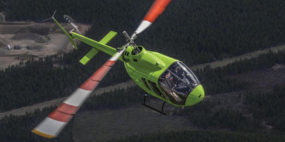 Bell 505 | Аренда от $1580/ч  Пилот +4 пассажира