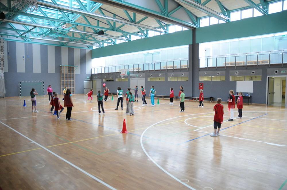 Gruppo Giovani - allenamento nella palestra di La Villa