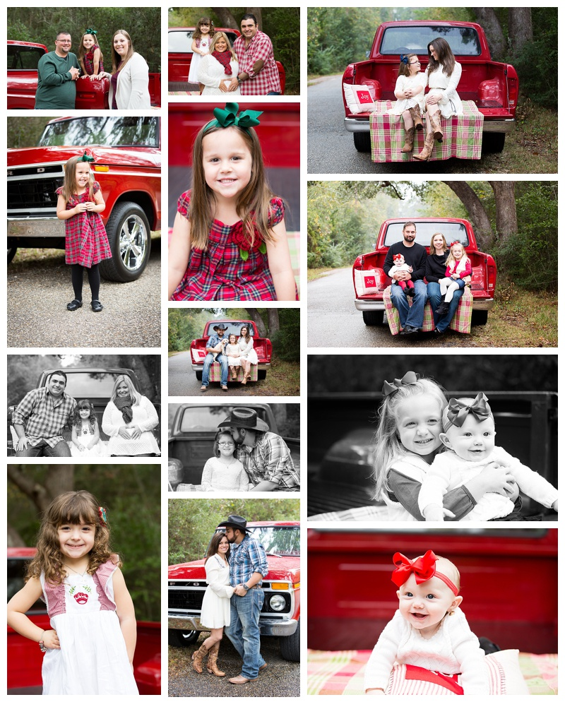 Christmas Mini Sessions Vintage Truck