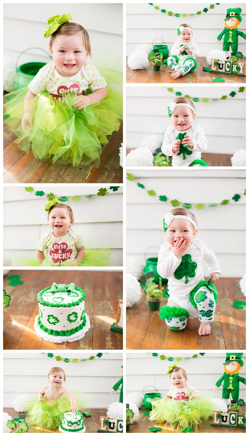 St Patrick's Day Cake Smash