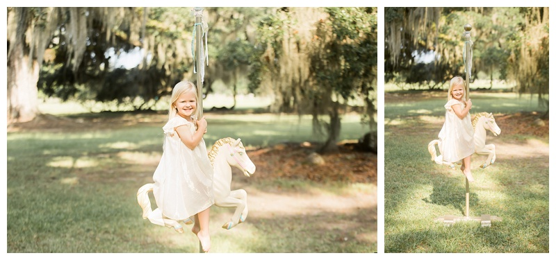 Jen Meadows Photography Carousel Horse Mini Session