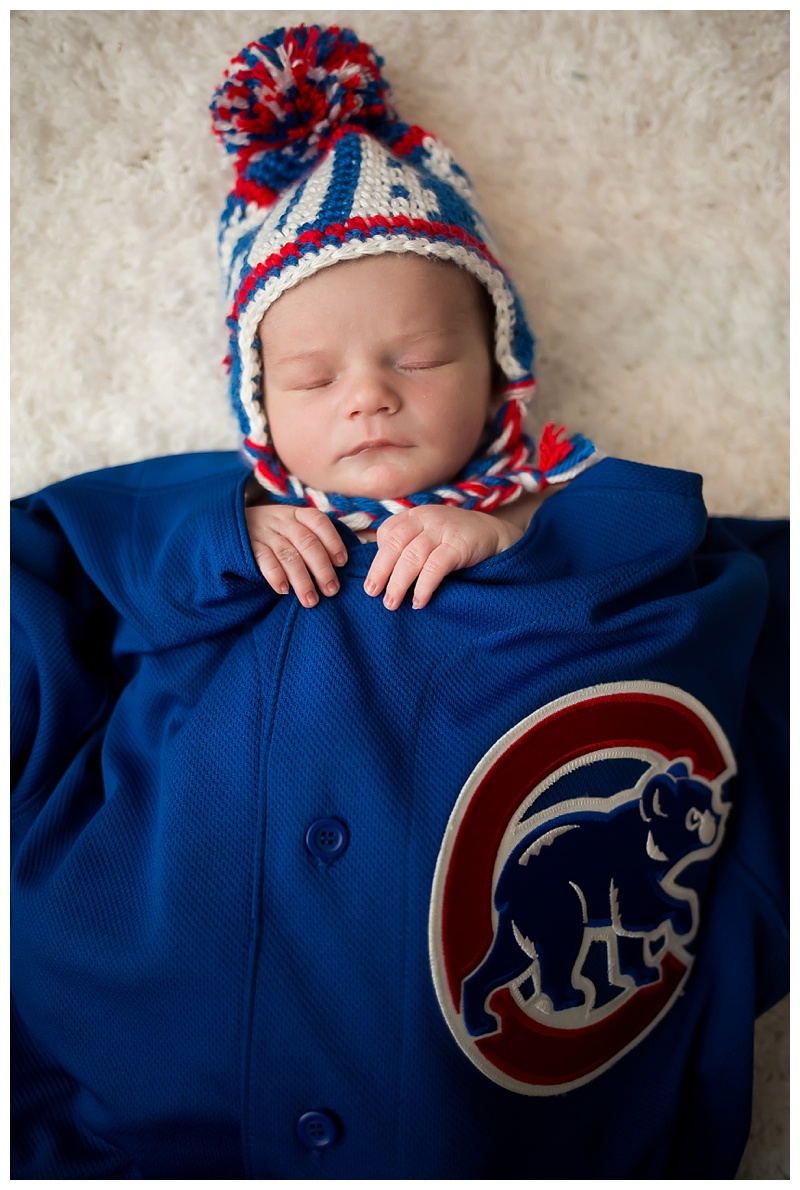 Chicago Cubs Newborn Session