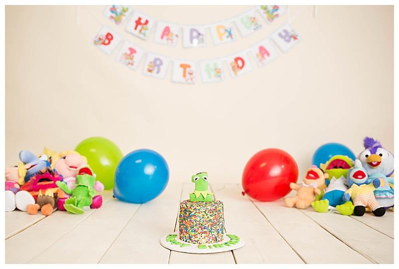 Kermit Cake Smash