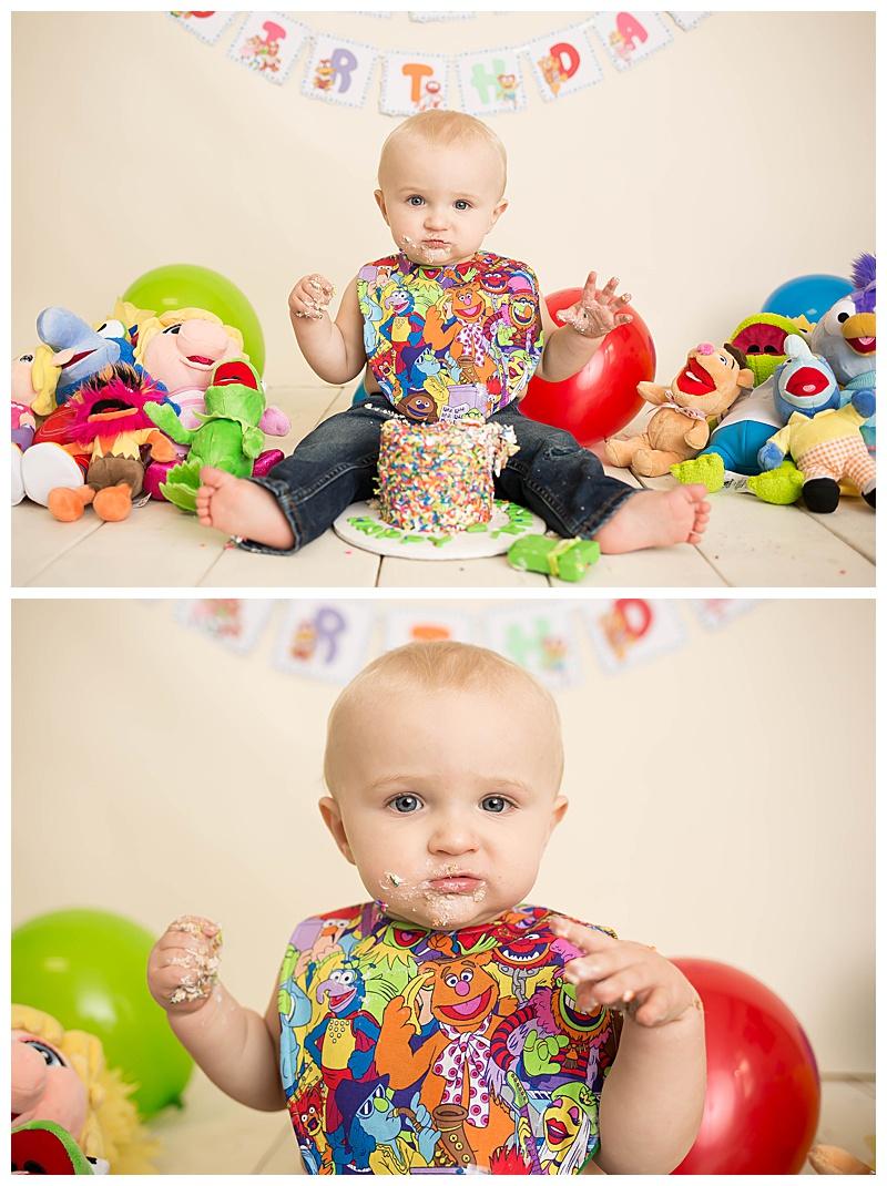 Muppet Baby Cake Smash