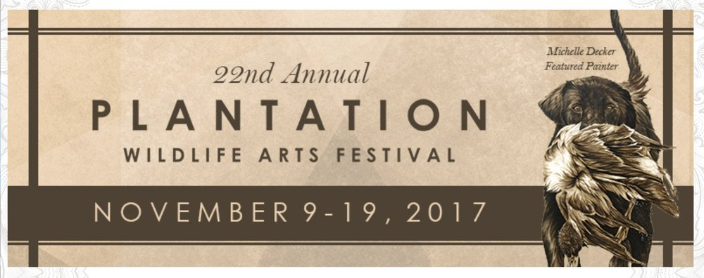JOIN ME NOV. 17TH-19TH FOR THE FINE ART SHOW SUPPORTING THE THOMASVILLE CENTER FOR THE ARTS.