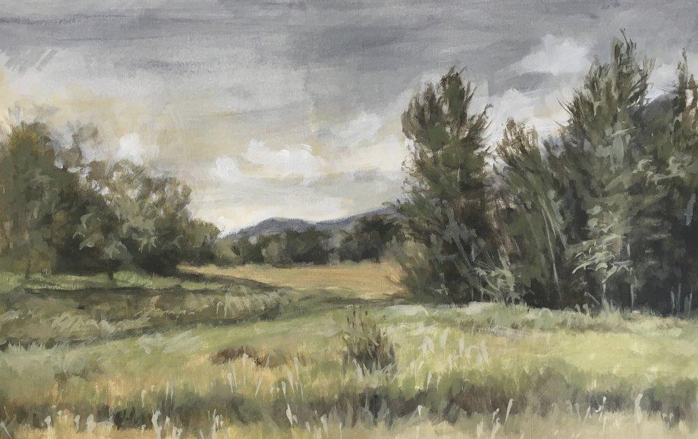 Jane Ingols Art, 12x14, acrylic on paper