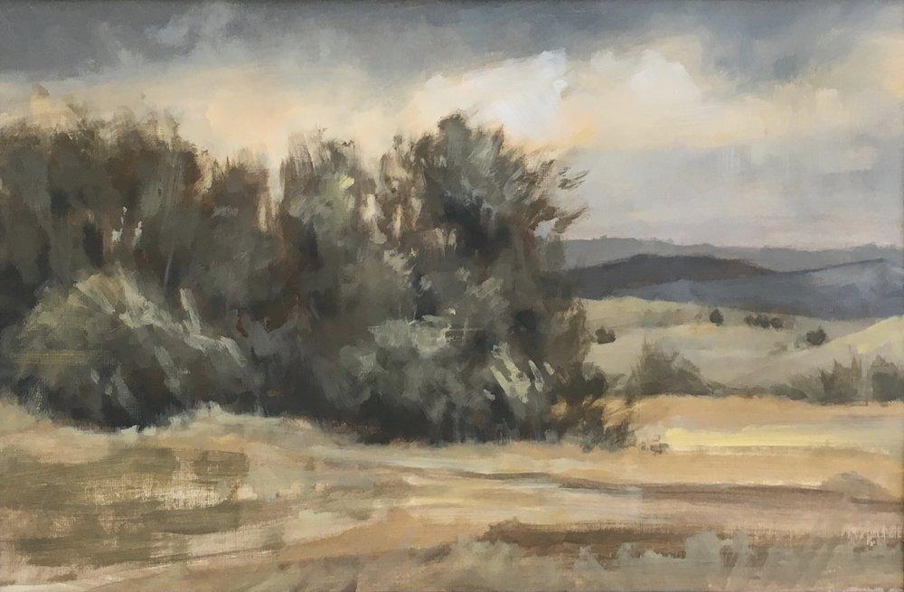 Jane Ingols Art, 12x18, acrylic on paper