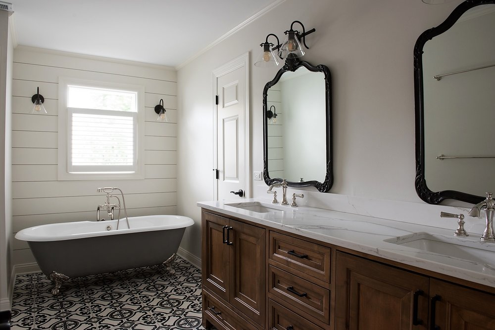 East Northshore Master Bathroom