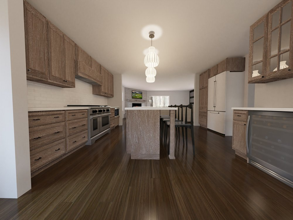 New high end Thermador Custom kitchen to cook your dinners in!